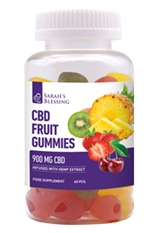 CBD-Fruchtgummies 900mg